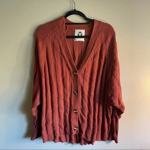 Urban Outfitters Women's Rust Cardigan